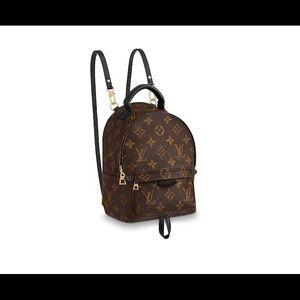 Louis Vuitton Mini Palm Spring Backpack- HTF